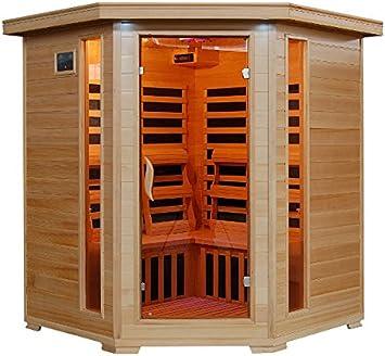 Tucson 4 Person Carbon Corner Heatwave Sauna