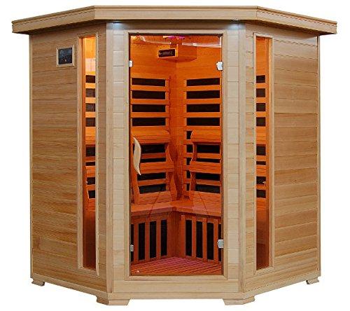Tucson - 4 Person Carbon Corner Heatwave Sauna!