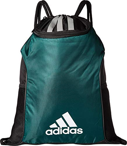 adidas Team Issue Ii Sackpack, Dark Green, One Size