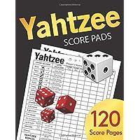 Yahtzee Score Pads: Large 8.5 x 11 Score Sheet Book