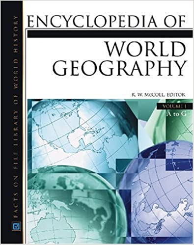 Encyclopedia Of World Geography, 3-Volume Set (Facts on File Library