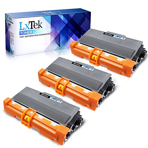 LxTek Compatible Toner Cartridge Replacement for Brother TN750 TN-750 TN720 TN-720 to use with DCP-8110DN HL-5470DW HL-5450DN HL-6180DW MFC-8510DN MFC-8710DW MFC-8910DW MFC-8950DW (3 Black High Yield)