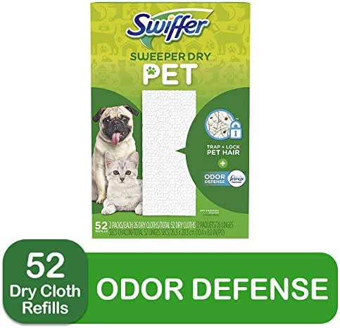 Dusting Tools & Cloths: Swiffer Sweeper Dry Pet