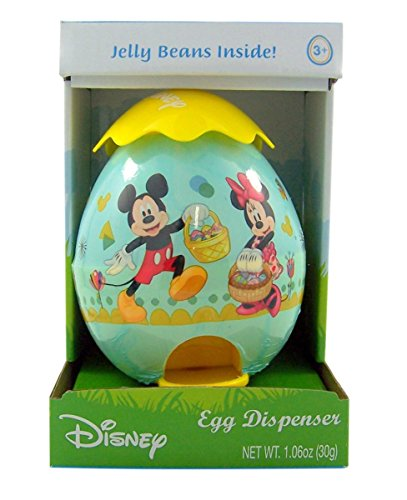 Disney Jelly Bean Candy Easter Egg Dispenser