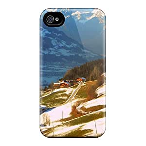 For DaMMeke Iphone Protective Case, High Quality For Iphone 4/4s Aschau Im Zillertal In The Austrian Tyrol Skin Case Cover