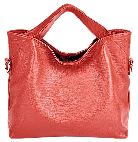 Shoulder SAIERLONG Soft Handbags Leather Yellow Red Fashion Bags Watermelon Designer Ladies Womens 78wXxrg8Zq