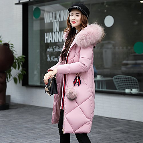 Cotton Big Cotton Jacket Winter Coat Long Code Cotton Sau Xuanku Clothing Pink Algeria Leisure Women'S awzdnxgq