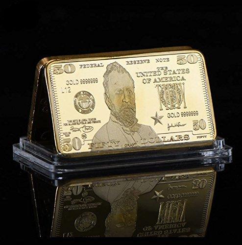 2004 Gold Bar $50 Brilliant (Bullion Art Bar)