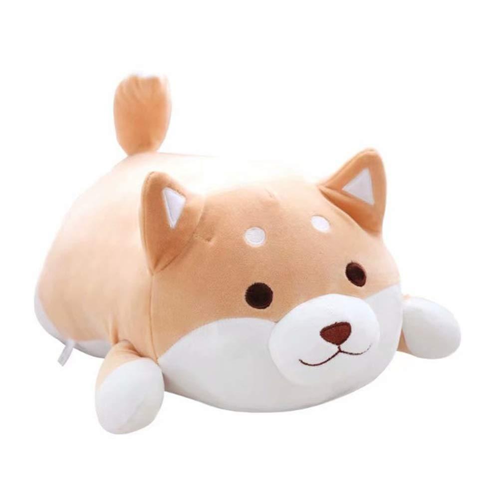 B 85 Cm Plüschtier Shiba Inu Akita Hund Plüschtier Großes Kissen Hyäne Weiche Körperpuppe Keji Ass Puppe Geburtstagsgeschenk, 35 cm, 58 cm, 85 cm (Farbe   B, Größe   85 cm)