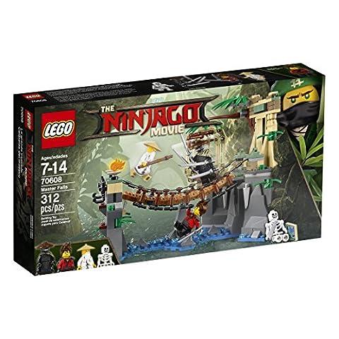LEGO Ninjago Master Falls 70608 Building Kit (312 Piece) (Legos Movie For Boys)