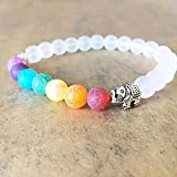 Sumanee 1PCS Fashion Colorful Elephant Charm Bead Bracelet for Women Bracelets Jewelry