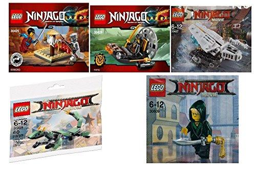 Ninjago Polybag Set 30425  30426  30427  30428  30609  Custom Bundle