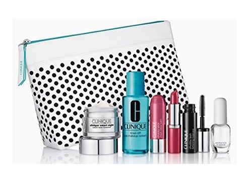 Clinique Smart Night Custom Skin Care & Chubby Makeup Set