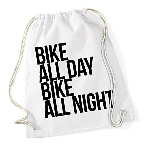 Bike All Day Gymsack White Certified Freak