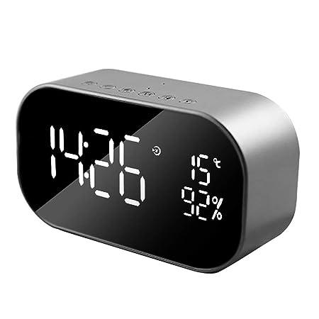 HYwot Radio Reloj Despertador, Reloj Despertador Digital con ...