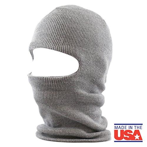 1 Winter Ski (The Hat Depot Made in USA Unisex Ski Mask Winter Hat)