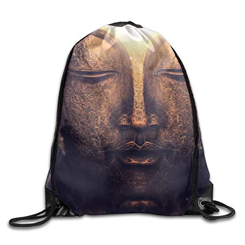 Drawstring Gym Backpack guolinadeou And Shoulder Bag Rucksack Print Sunshine Sport Bags Bag Buddha IzpqUg