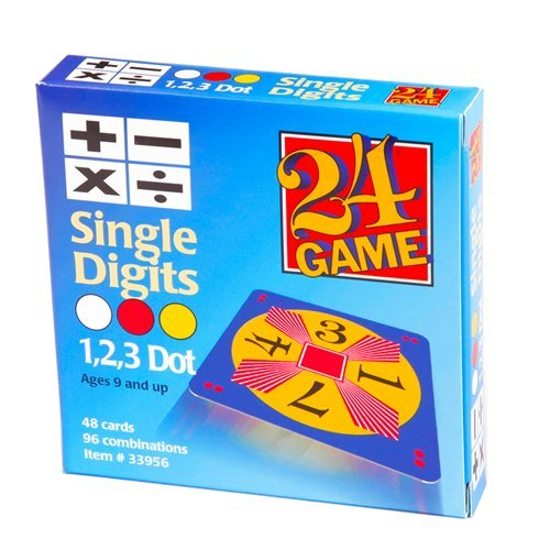 24 Games Combo Pack : 48 Card Deck Single Digit & 48 Card Deck Double Digit - Includes Exclusive Tips Sheet - Master Math Skills with this Dual Combo by Ergy (Image #1)