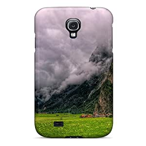 Galaxy High Quality Tpu Case/ Gorgeous Clouds In The Valley Hdr OSX9534tScd Case Cover For Galaxy S4