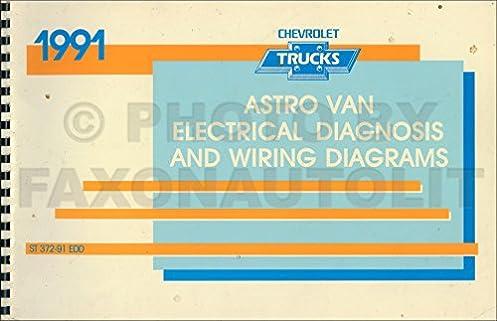 1991 chevy astro van wiring diagram manual original chevrolet rh amazon com