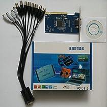 8 ch Channel cctv-dvr PCI card d1 RealTime Video Capture Card 4ch Audio