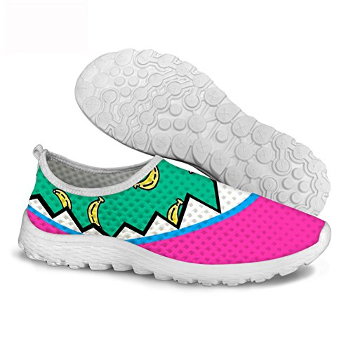 FancyPrint Print Fashion on Shoes Running Tennis Lightweight Woman Walking Gym Slip 7r7nZwxUq
