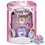 Twisty Petz – Babies 4-Pack Pandas and Kitties Collectible Bracelet Set for Kids