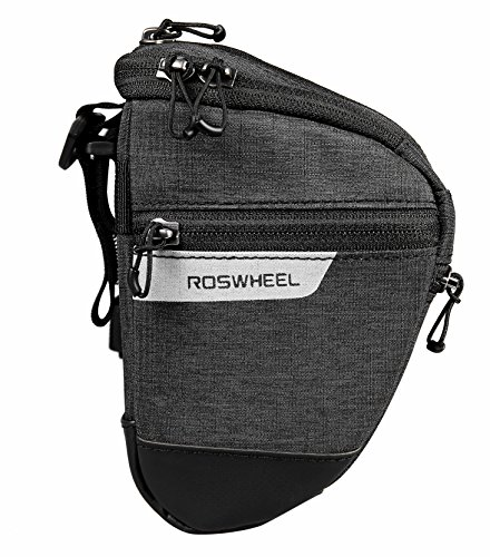 Roswheel Essentials Series 111459 Water Resistant Bike Bicycle Handlebar Bag Map Phone Case by Roswheel (Image #2)