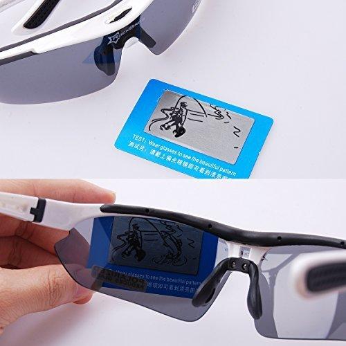 ROCKBROS Bike Bicicleta Ciclismo Gafas deportivas polarizadas Gafas de sol Goggles Sunglasses CS011: Amazon.es: Deportes y aire libre