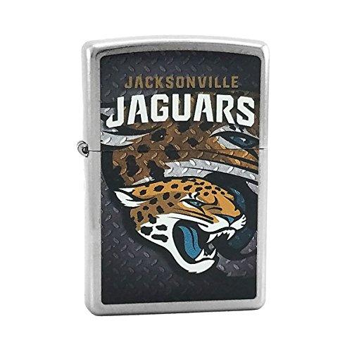 Custom Style Personalized Zippo Lighter NFL - Free Laser Engraving (Jacksonville (Nfl Jacksonville Jaguars Zippo Lighter)