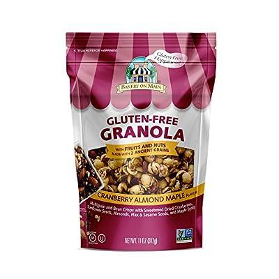 Bakery on Main Gluten Free Non GMO Granola, Cranberry Almond Maple Flavor, 11 Ounce