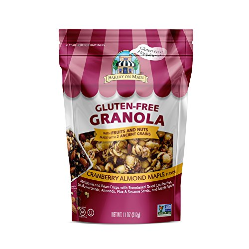 Bakery on Main Gluten Free Non GMO Granola, Cranberry Almond Maple Flavor, 11 Ounce