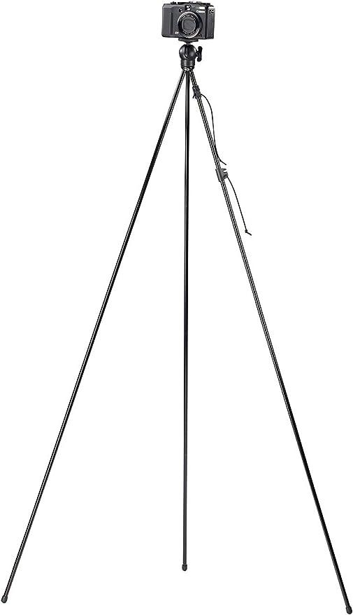 Somikon trípodes: Plegable de Viaje cámara trípode con Adaptador ...