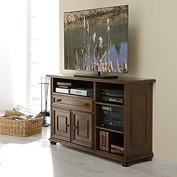 Tv Phonomobel Iii Verona Nussbaum Antik Gebeizt Von Albero Mobel