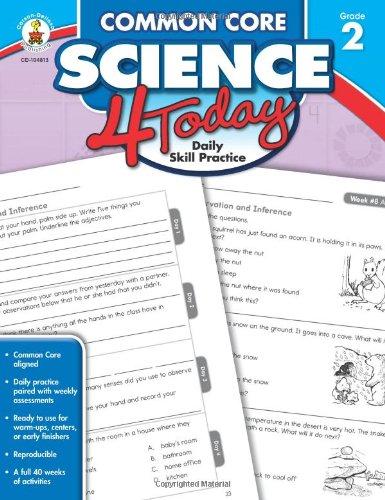 Common Core Science 4 Today, Grade 2: Daily Skill Practice (Common Core 4 Today)