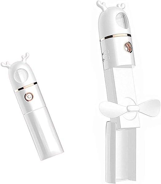 YLLN Ventilador de Mano con Agua nebulizada Spray Mist Fan Ladies ...