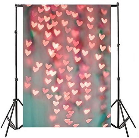 FIRSTLIKE 3x5FT Retro Gray Black Retro Wall Photography Background Studio Studio Photo Props