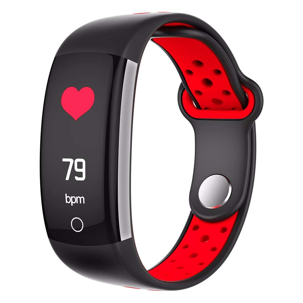Smart Band Watch Bracelet Wristband Fitness Tracker Blood Pressure Heart Rate Q6