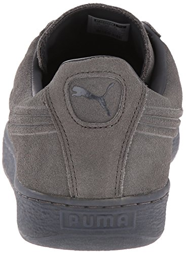 PUMA Men's Suede Emboss Iced Fashion Sneakers, Dark Shadow, 9 D US Photo #9