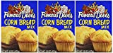 Famous Dave's, Corn Bread Mix, 15oz Box (Pack of 3)