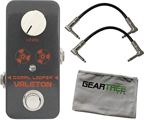 Valeton CLP-1 Coral 10 Minute Looper Pedal by Valeton