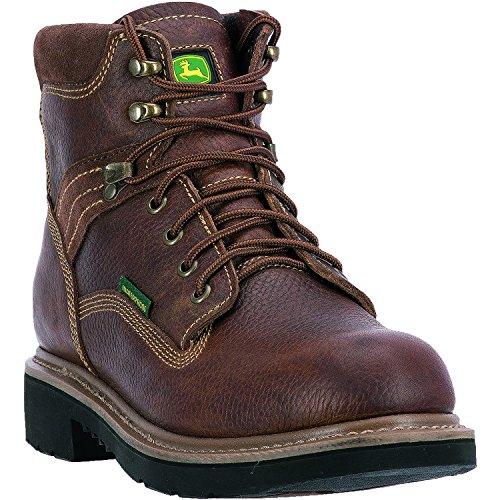 Wheat Waterproof Wrk Brn 6 Deere LU Nst John Boot Work Farm Men's Tan 7ZqTfwg