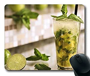 Mojito Cocktail POP Limited Design Oblong Mouse Pad by Cases & Mousepads