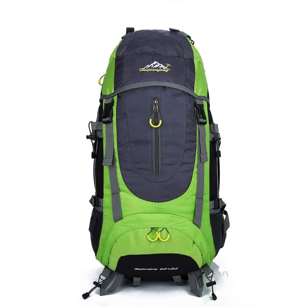 BIUBIU ハイキングバックパック 防水 アウトドア 軽量 旅行バックパック 大容量 ハイキングバッグ ナイロンバックパック 登山用バッグ B07HW1LQS1