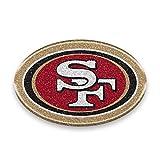 49ers license plate frame bling - NFL San Francisco 49ers Color Bling Emblem, 4
