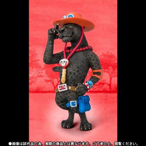 Web shop Anima limitato Figuarts Zero Artist Special porta gas D Ace come nero Panther (japan import)