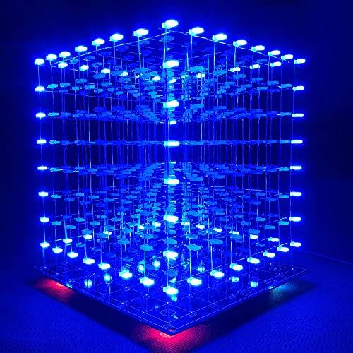 Led Light Cube 8X8X8 Kit in US - 3
