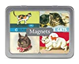 Cavallini Vintage Cats 24 Assorted Magnets