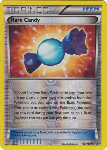 - Pokemon - Rare Candy (135/160) - XY Primal Clash - Reverse Holo