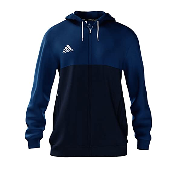 99537b58c29 adidas T16 Mens Pullover Hooded Top Hoodie Hoody (X-Small, Navy/Royal